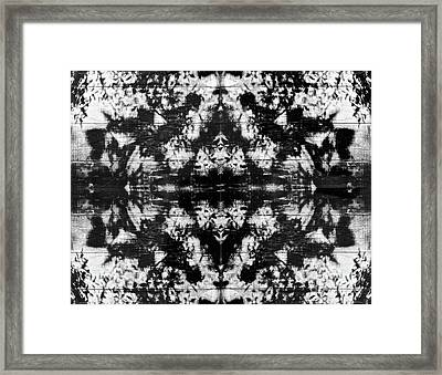 Shadow Play Framed Print