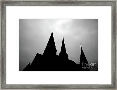 Shadow Play Two Framed Print by Tapio Koivula