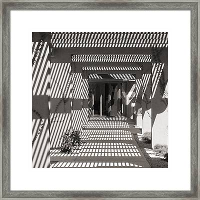 Shadow Puzzle Framed Print