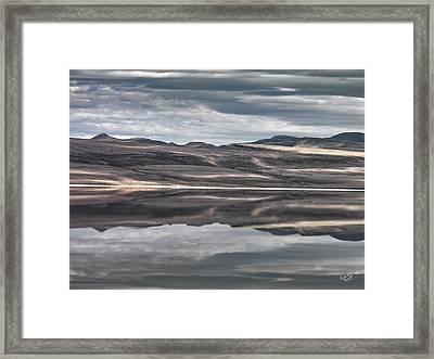 Shadow Reflections Framed Print
