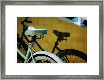 Shadow Ride Framed Print