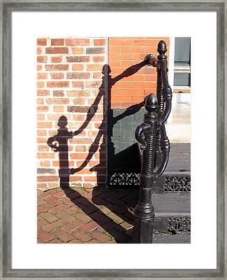 Shadow Framed Print by Sean Owens
