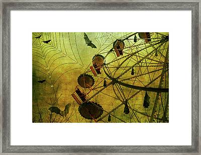 Framed Print featuring the digital art Shadow Show by Margaret Hormann Bfa