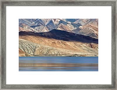 Shadow Tso Moriri, Karzok, 2006 Framed Print