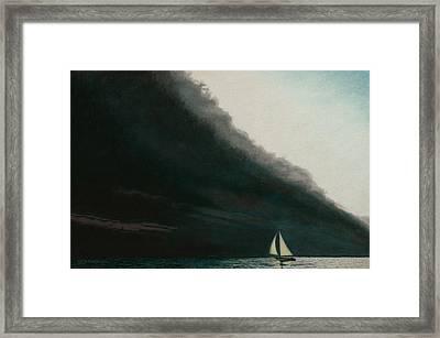 Shadow Work Framed Print by Allan OMarra