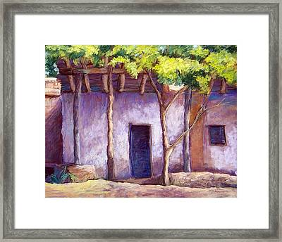 Shadowed Ruins Framed Print by Candy Mayer