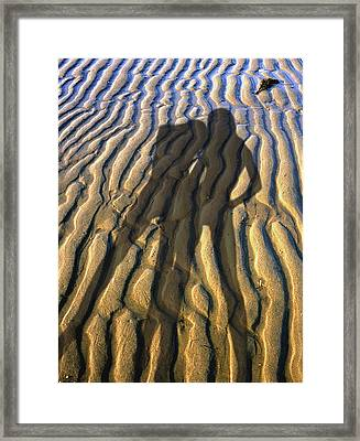 Shadows 02 Framed Print by Victor Yekelchik