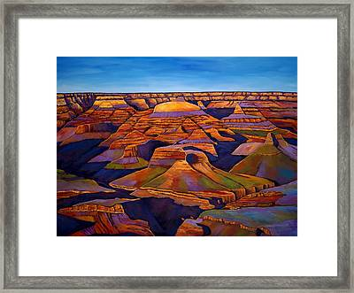 Shadows And Breezes Framed Print by Johnathan Harris
