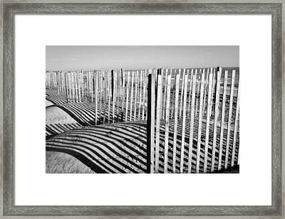 Shadows And Light Framed Print