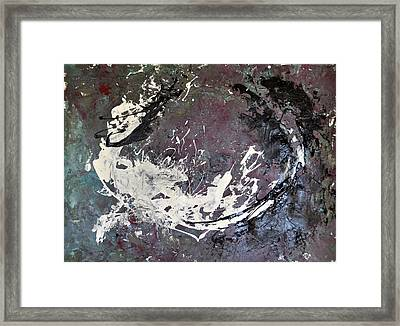 Shadows And Substance-2 Framed Print