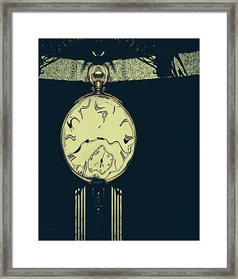 Shadows And Time Framed Print by Bob Orsillo