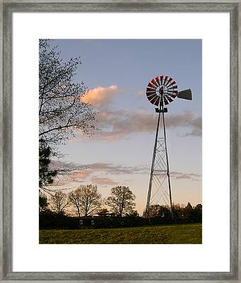 Framed Print featuring the photograph Shadows Fall  by Bonnie Willis