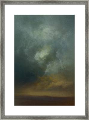 Shadows In The Dust Framed Print by Lonnie Christopher