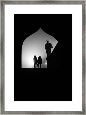 Shadows Framed Print by Jenny Rainbow