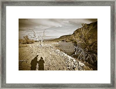 Shadows Lurking Framed Print by Keith Sanders