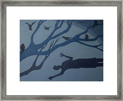 Shadows Move Among Us Framed Print