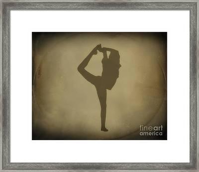 Shadows Of Dance Framed Print by Randy Steele