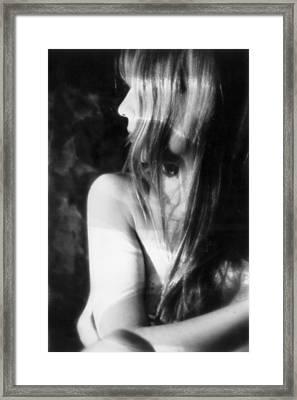 Shadows Of Sight Framed Print by Xavier Carter