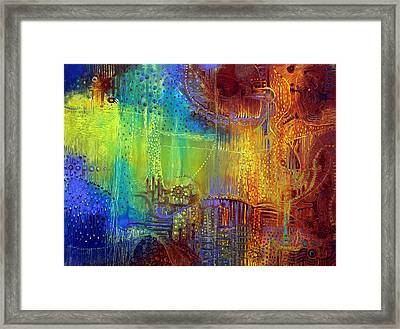 Shadows Of The Dream II Framed Print by Lolita Bronzini