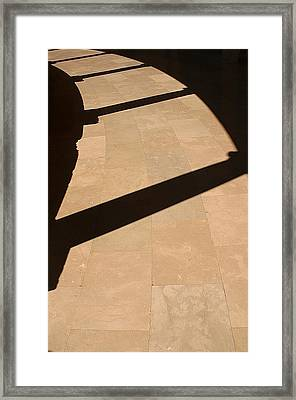 Shadows Of The Past Framed Print by Jez C Self