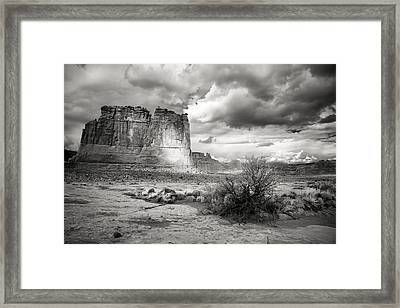 Shadows On The Plain Framed Print
