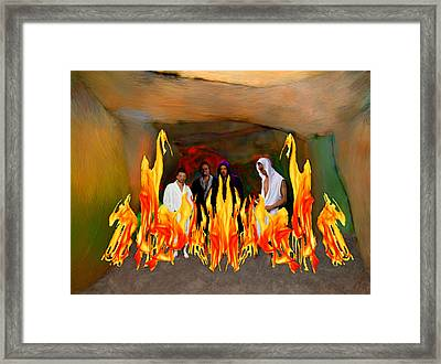 Shadrach Meshach And Abednego  Framed Print