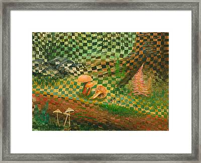 Shady Grove Framed Print by Linda L Doucette