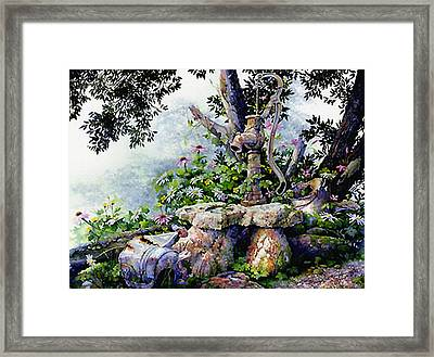 Shady Rest Framed Print by Hanne Lore Koehler