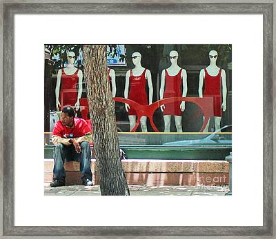 Shady Spot Framed Print by Joe Jake Pratt