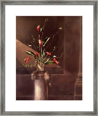 Shaft Of Light Framed Print by Jack Eadon