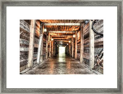 Shafted Framed Print by Michael Garyet