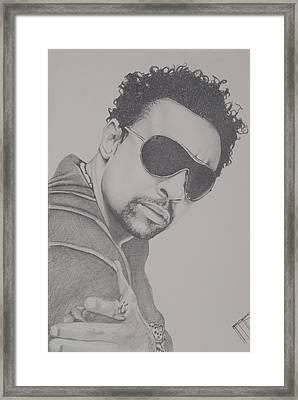 Shaggy Framed Print by Jeffrey Samuels