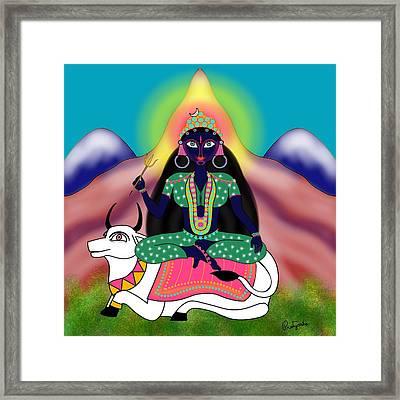 Shailaputri Framed Print by Pratyasha Nithin