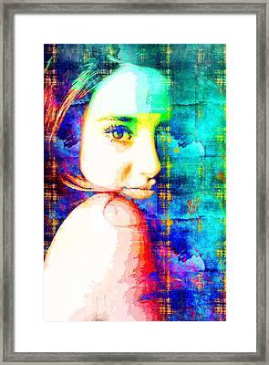 Shailene Woodley Framed Print