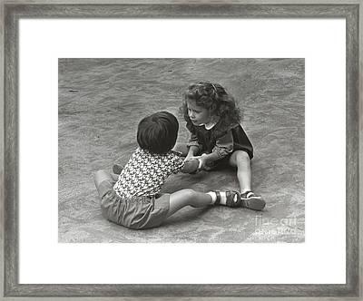 Shake Framed Print by Andrea Simon