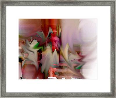 Shake Framed Print by Dave Kwinter