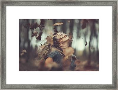 Shake It Up Framed Print by Arnold Eszenyi