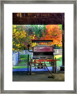 Shaker Carriage Barn 2 Framed Print
