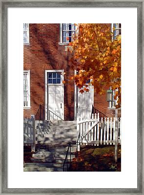 Shaker House Framed Print