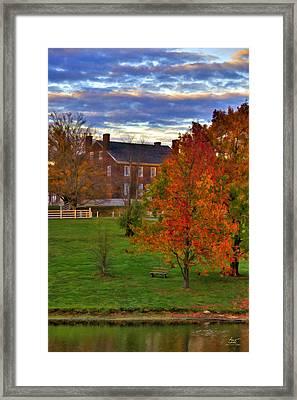 Shaker Lake 9 Framed Print
