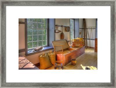 Shaker Seedroom Framed Print