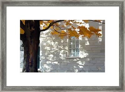 Shaker Shadows 1 Framed Print
