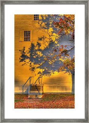 Shaker Shadows 2 Framed Print by Sam Davis Johnson
