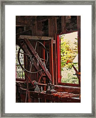 Shakers Woodshop Framed Print by Steve Ohlsen