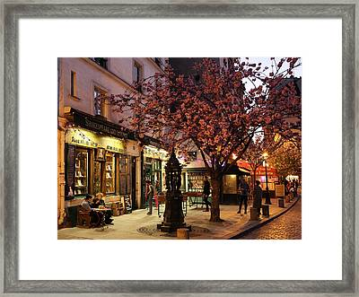 Framed Print featuring the photograph Shakespeare Book Shop 2 by Andrew Fare