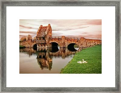 Shakespeare Bridge Framed Print by Iryna Goodall