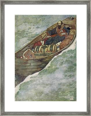 Shakespeare S Comedy Of The Tempest Framed Print