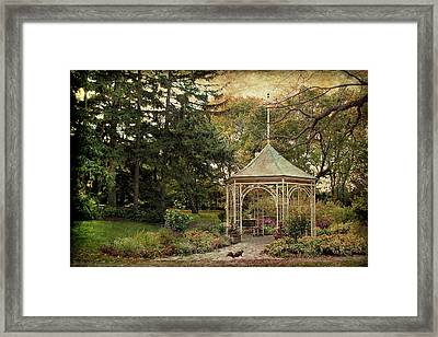 Framed Print featuring the digital art Shakespeare's Squirrel by Margaret Hormann Bfa