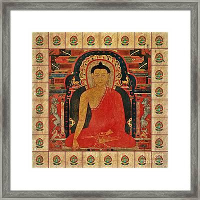 Shakyamuni Buddha Framed Print