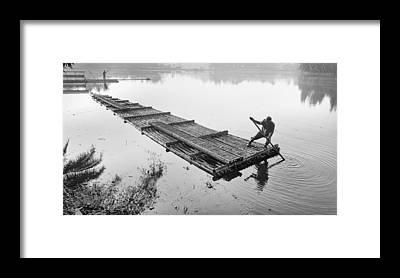 Raft Framed Prints